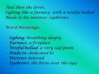Poem- The Seven Ages by - William Shakespeare. - ppt video ...