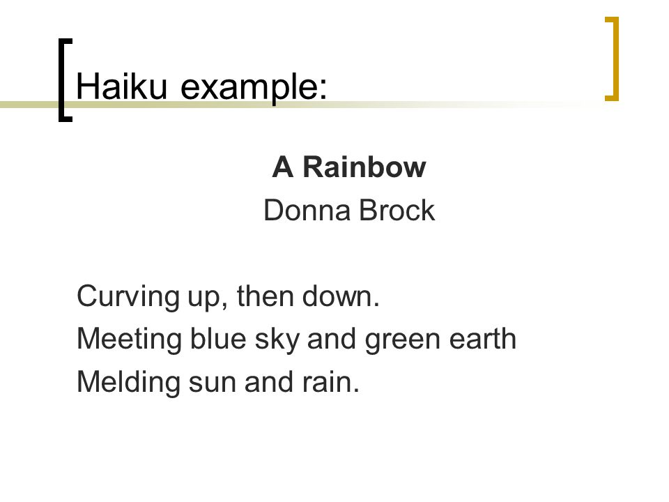 Haiku Example Choice Image Example Cover Letter For Resume