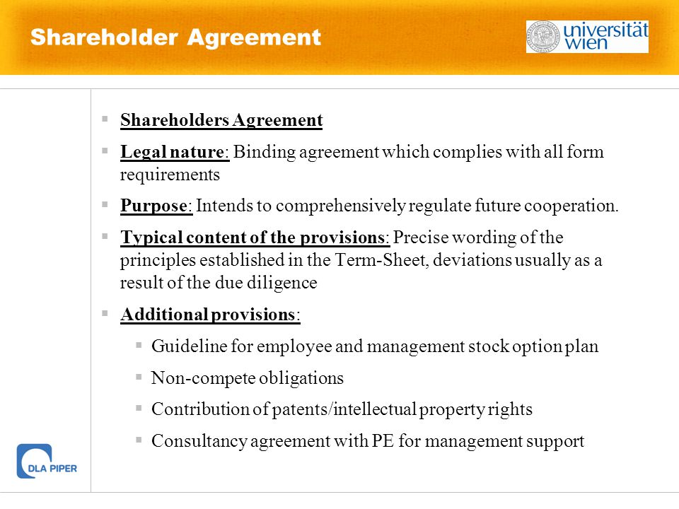 Introduction to Private Equity and Venture Capital - ppt download - shareholder agreement