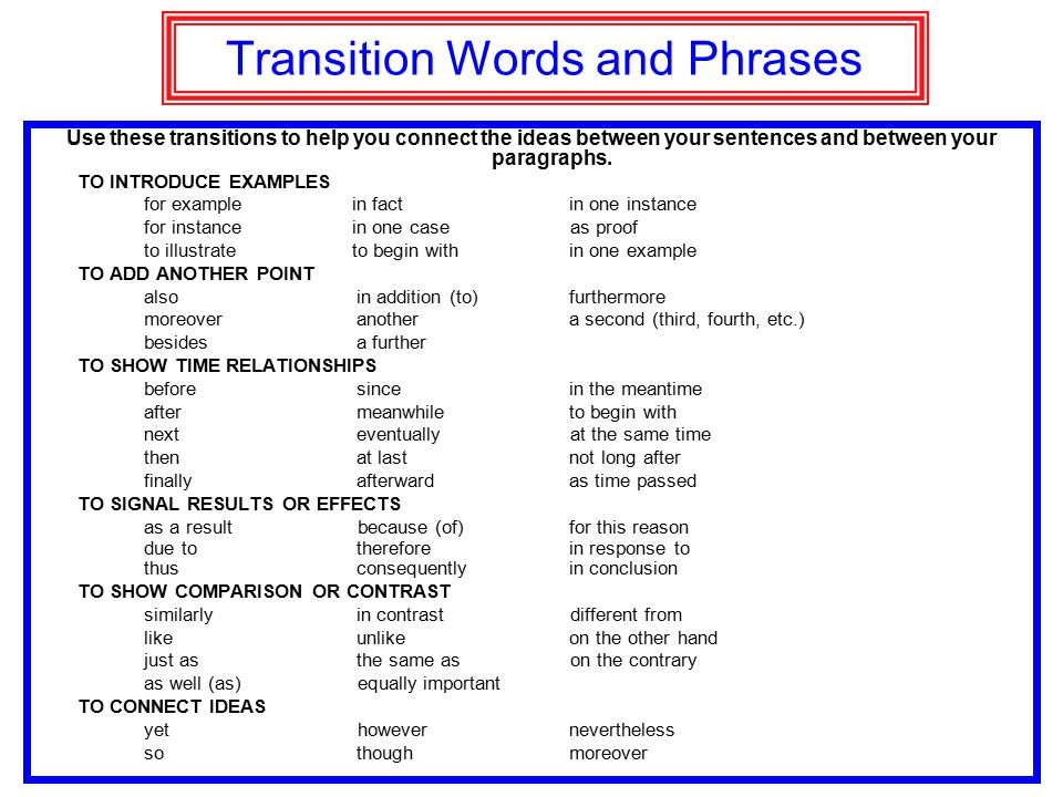 essay transitions essay first body paragraph transitions essay - transition to start a paragraph