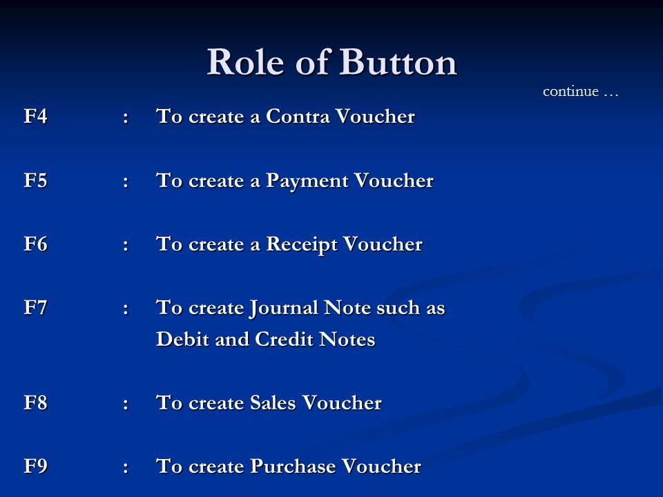 create voucher – Create a Voucher