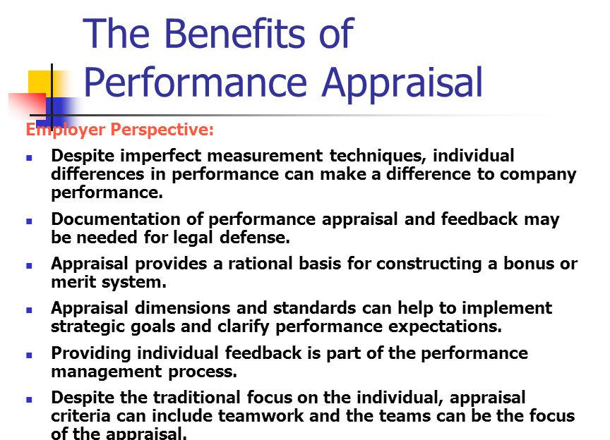 Performance Appraisal - ppt video online download - performance appraisal