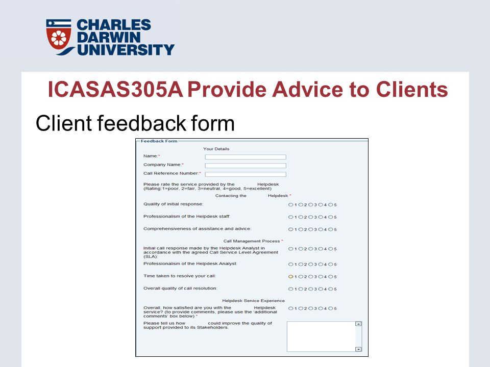 Client Feedback Form Sample Event Feedback Forms Event Feedback