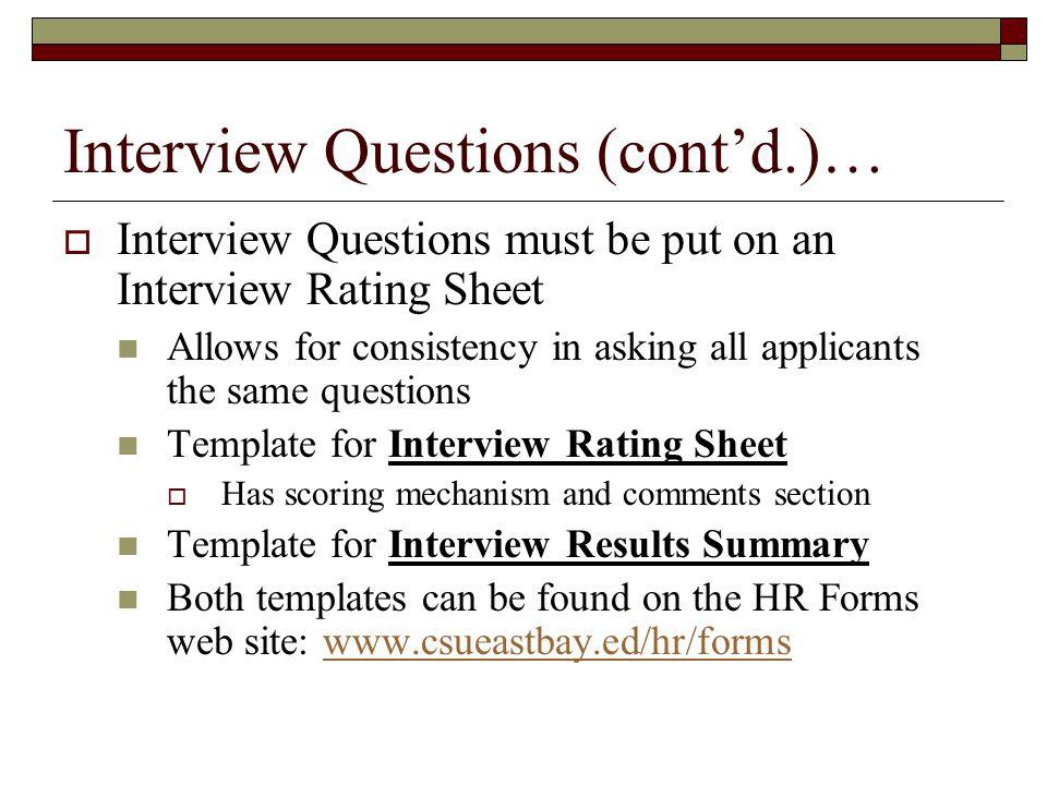 interview summary template hitecauto - interview score sheet template
