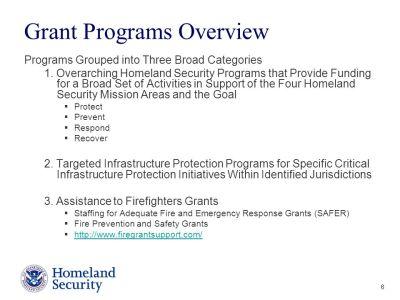 Preparedness Grant Programs FEMA/Grant Programs Directorate - ppt video online download