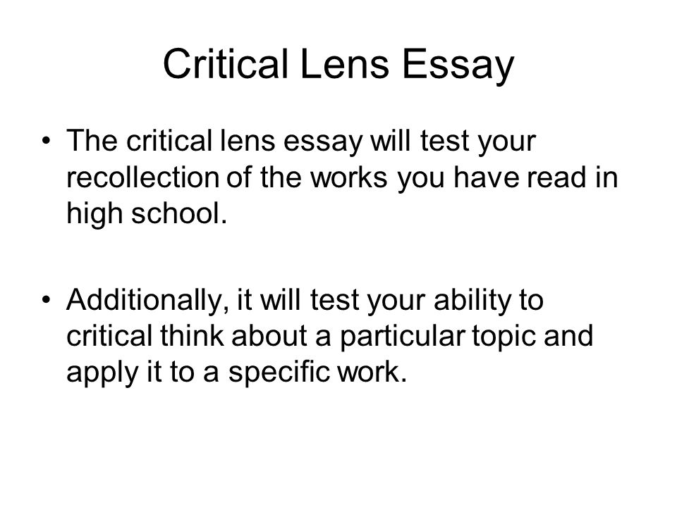The great gatsby critical lens essay - Custom paper Sample
