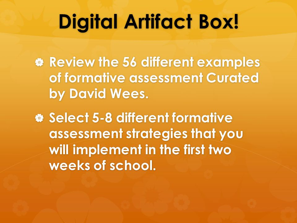 Different Examples Of Formative Assessment Civicsstandards