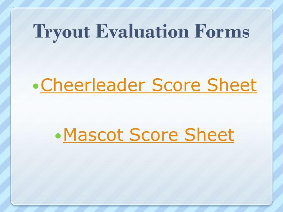 Cheerleaders Ahs Cheer Score Sheet - Lesbos