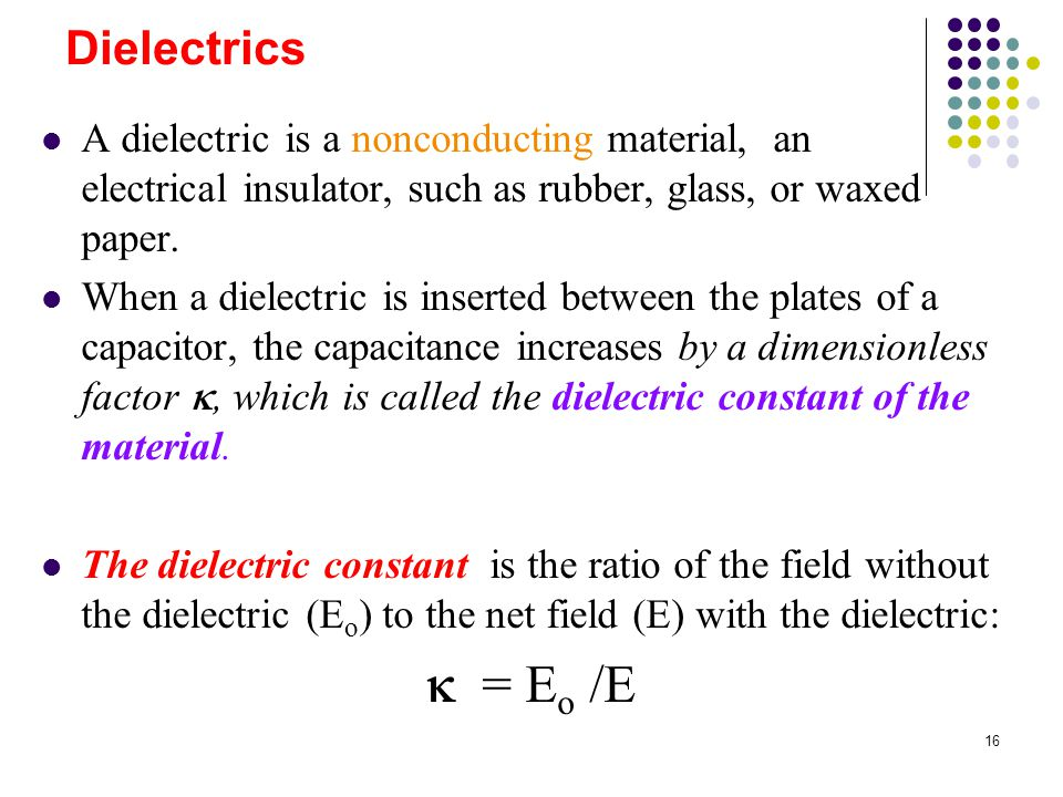 Capacitance And Dielectrics Ppt Video Online Download