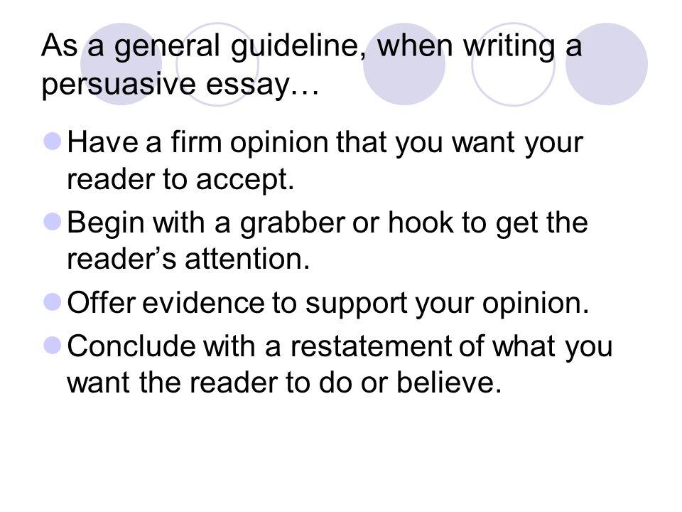 hooks for persuasive essays persuasive writing ppt video online