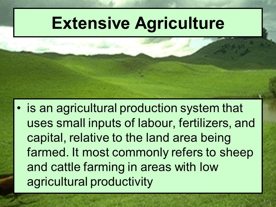 Agricultural Cultivation Types Of Agriculture Learning Objectives - Ppt Video