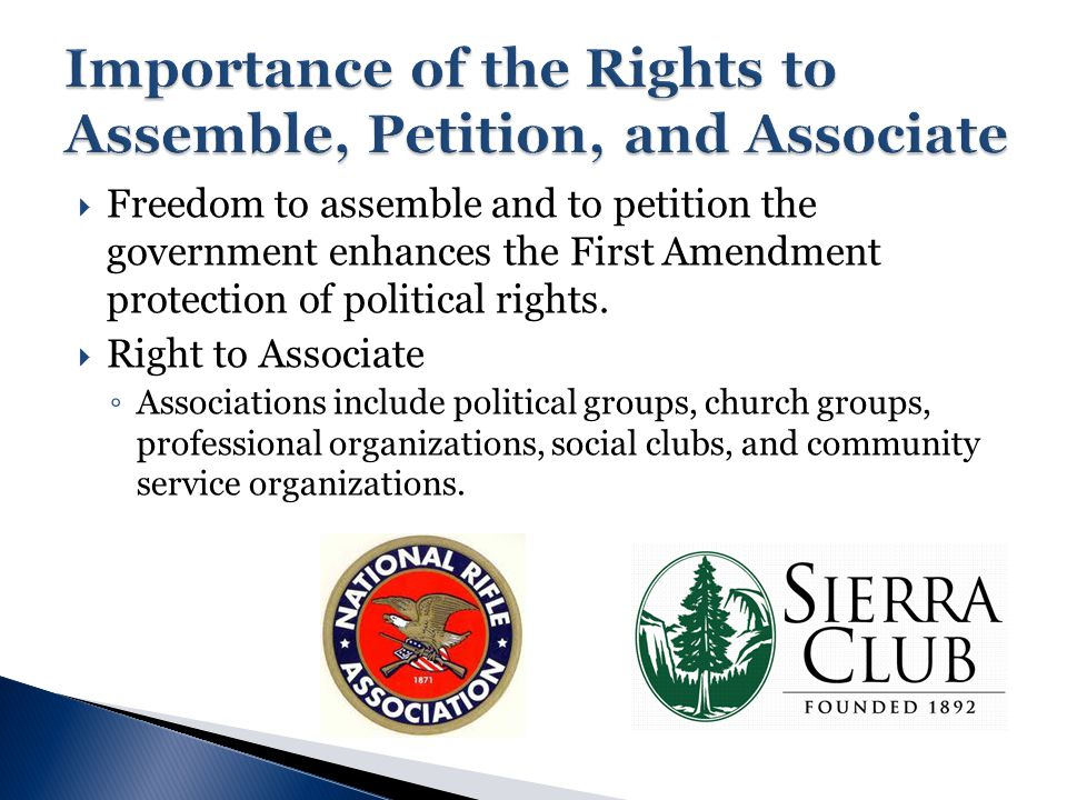 ... Unit 5 American Rights   Ppt Download   Importance Of Petition ...