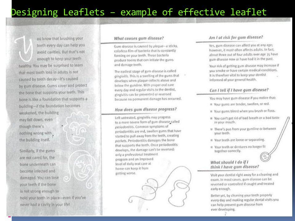 leaflets example - Kendicharlasmotivacionales