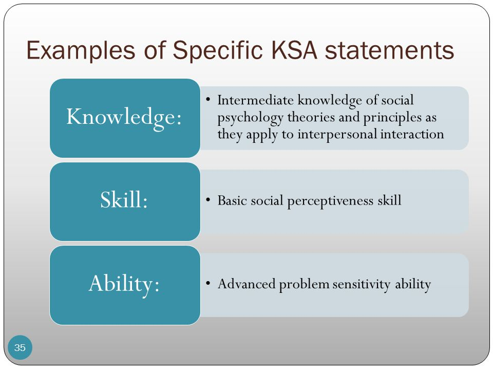 knowledge skills abilities - Josemulinohouse