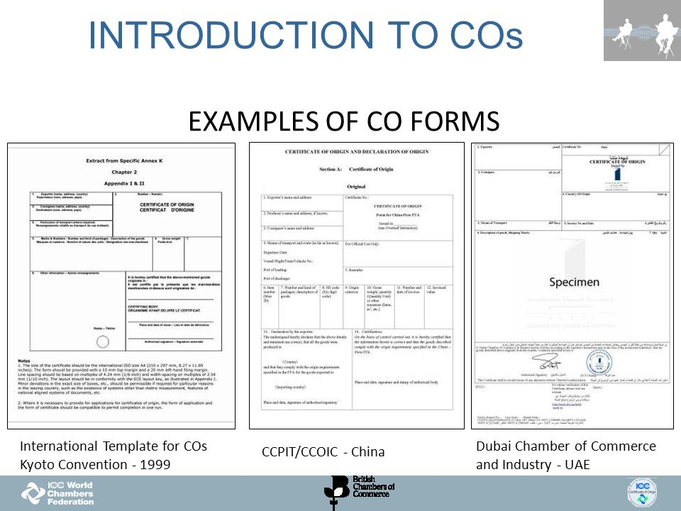 TODAY\u0027S SESSION What are COs and why they are needed? - ppt video - Certificate Of Origin Forms