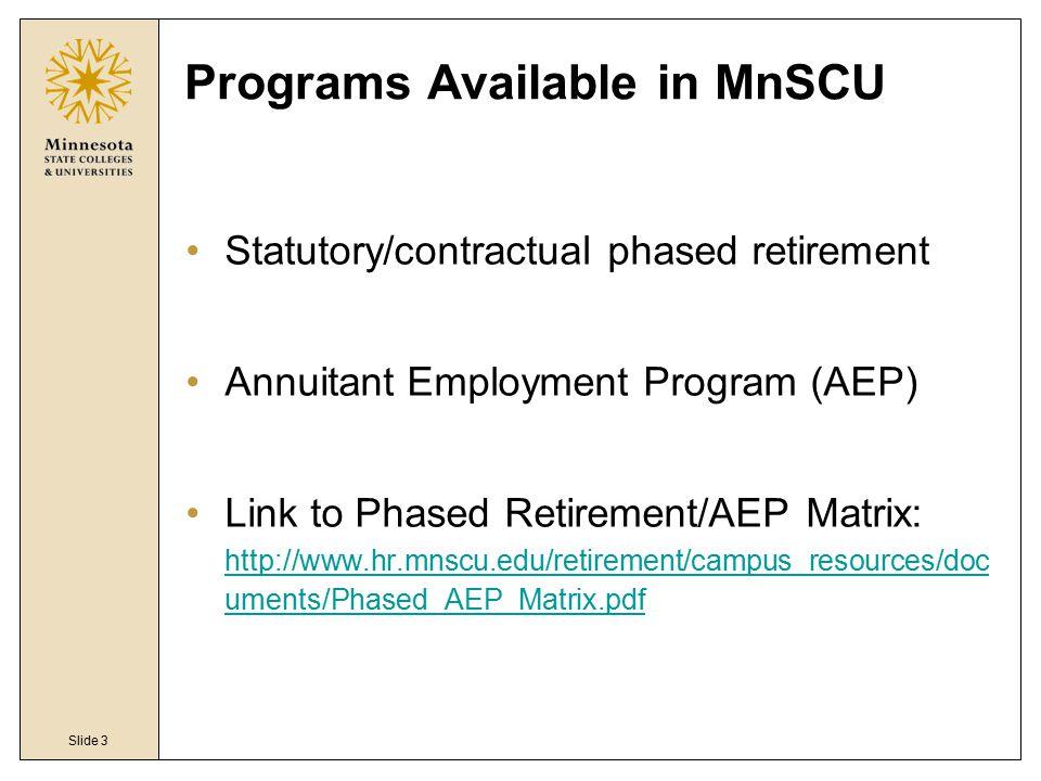 MnSCU Retirement Plans - ppt video online download