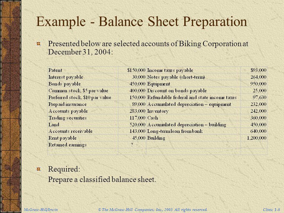 Balance sheet preparation examples 8497488 - metabo01info