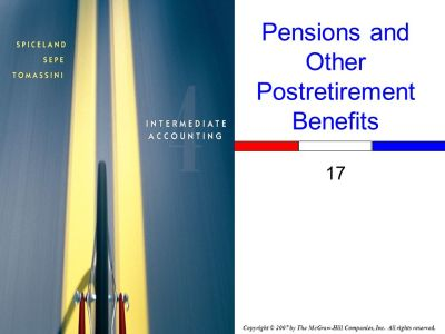 Pensions and Other Postretirement Benefits - ppt download