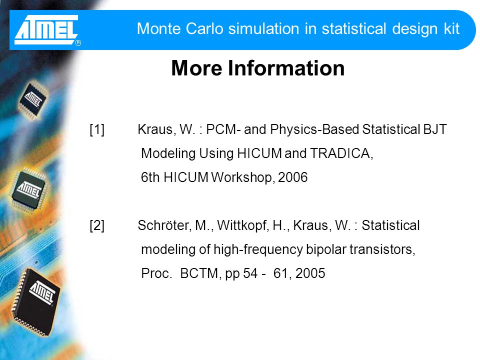 Monte Carlo Simulation Template ophion