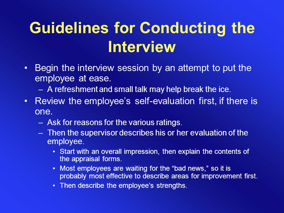Employee Appraisal - ppt video online download - conduct employee evaluations