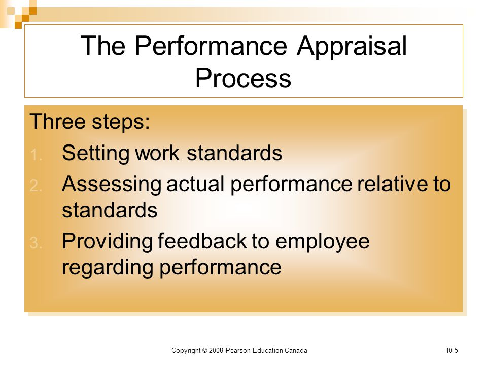 Performance Appraisal The Key to Effective Performance Management - effective employee evaluation steps