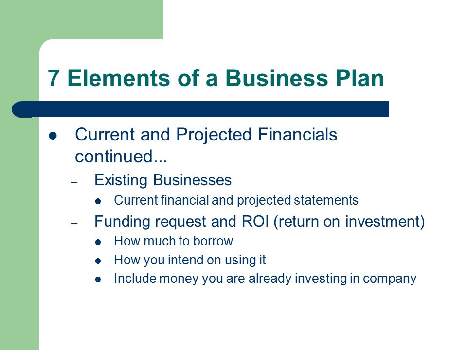 Business Plan Elements Efficiencyexperts efficiencyexperts - business plan elements