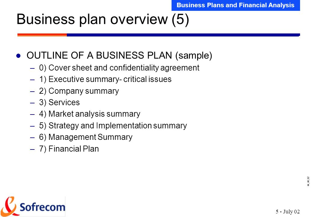 Sample Financial Plan Sample Financial Forecasting And Planning - sample financial analysis