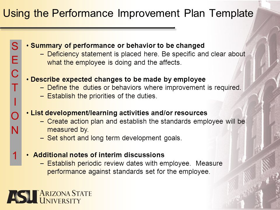 Performance improvement template resumecharacterworldco – Performance Improvement Plan Definition