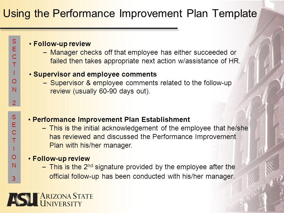 Performance improvement plan template nfgaccountability – Performance Improvement Plan Definition