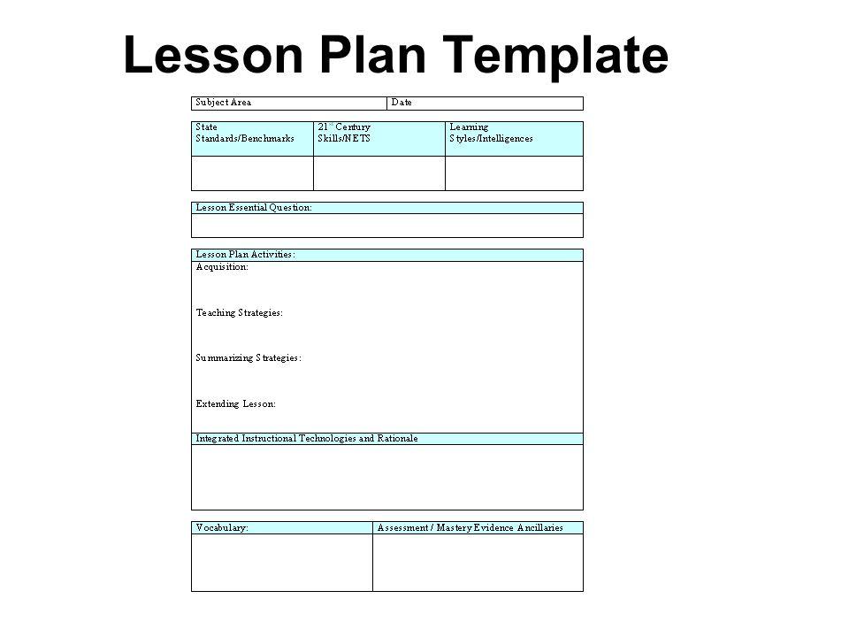 Amazing Edi Lesson Plan Template Model Resume Ideas Namanasa