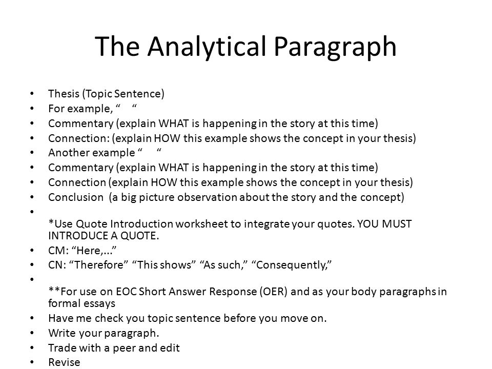 Analytical introduction paragraph essay Essay Service - essay introductory paragraph