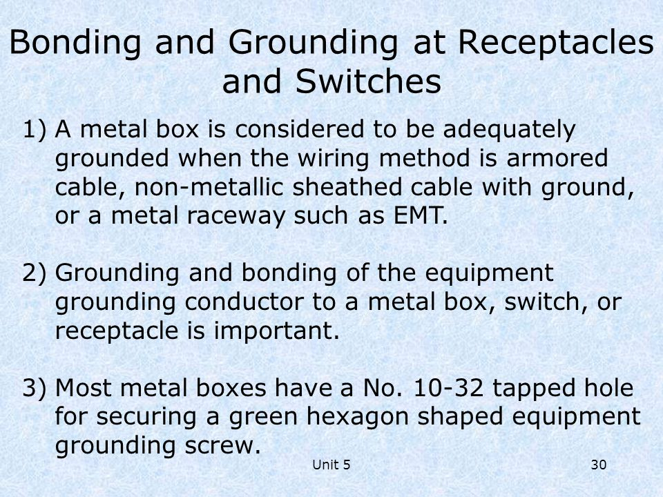 wiring switches and receptacles ppt