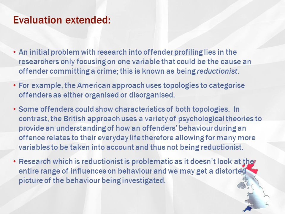 examples of criminal profiling creating a profile ppt essay on lise
