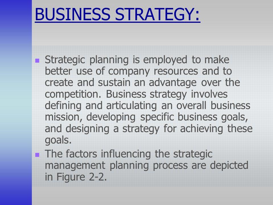 Factors affecting strategic management implementation Term paper