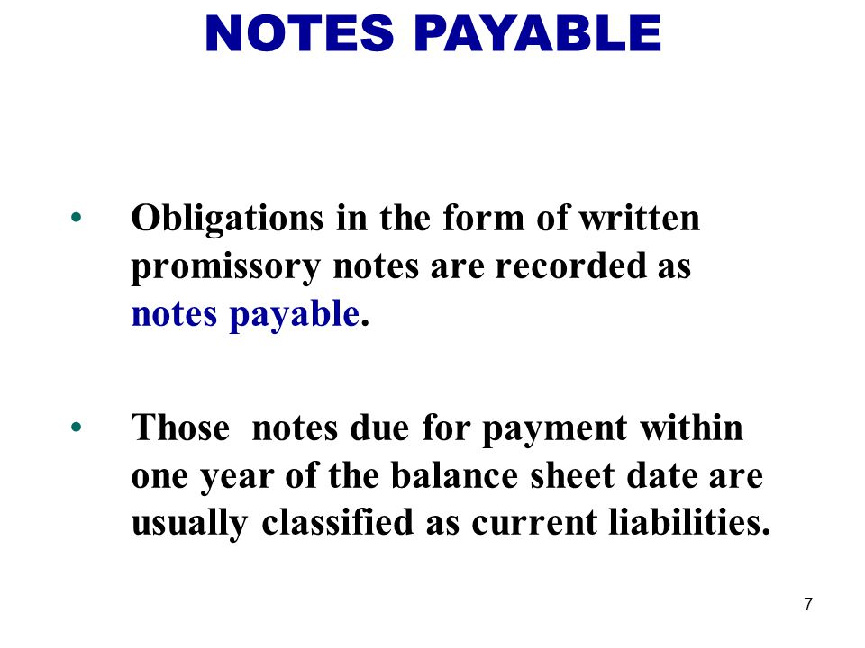 Current Liabilities and Payroll - ppt video online download