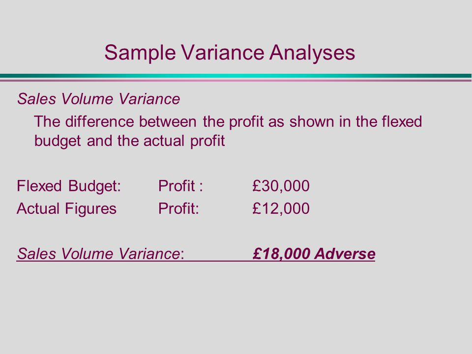 Sample Sales Budget Determinants Explained With Example