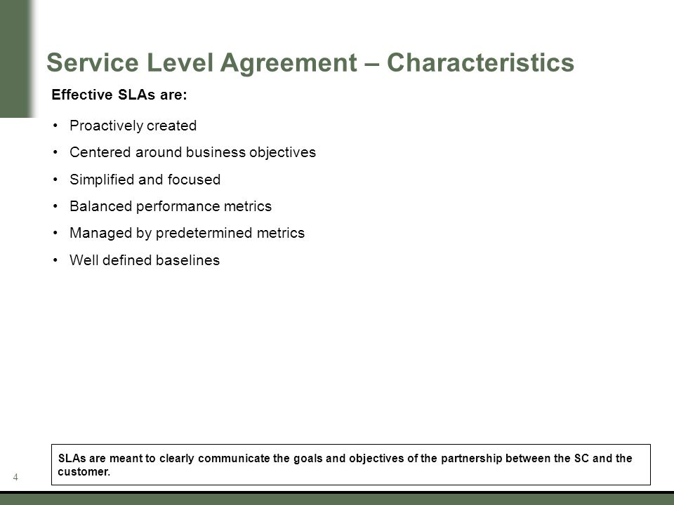 Business Service Level Agreement service level agreement template - business service level agreement