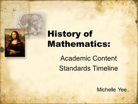 A brief history of Mathematics - ppt video online download