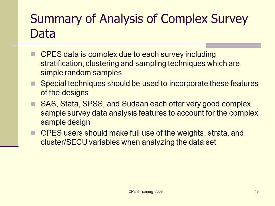 sample data analysis - Sample Analysis