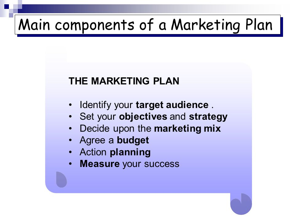 Marketing Social scientists tell us - ppt video online download - components marketing plan