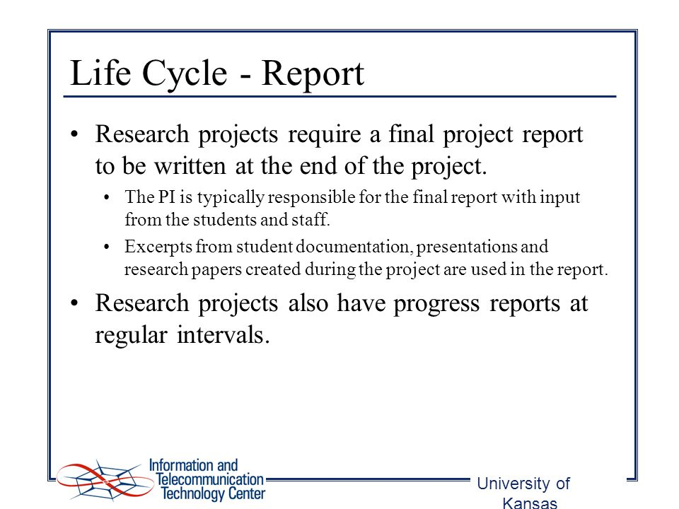 Research Project Report wcec research project report project - research project report