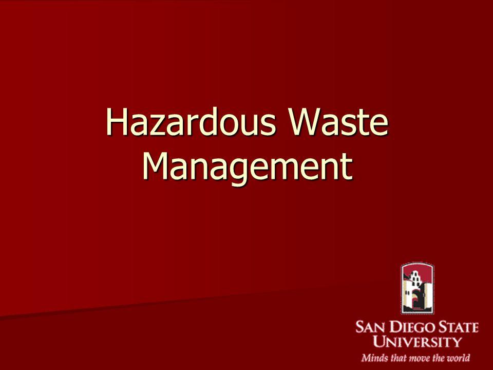 Hazardous Waste Management - ppt video online download - waste management ppt