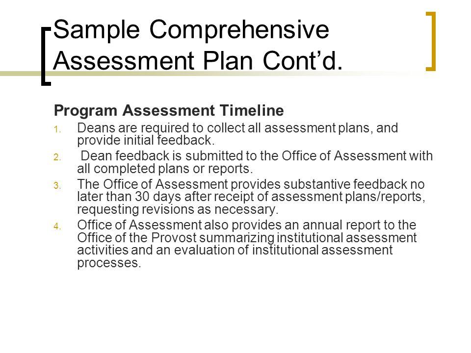 Assessment of Program Learning Outcomes Workshop - ppt video online