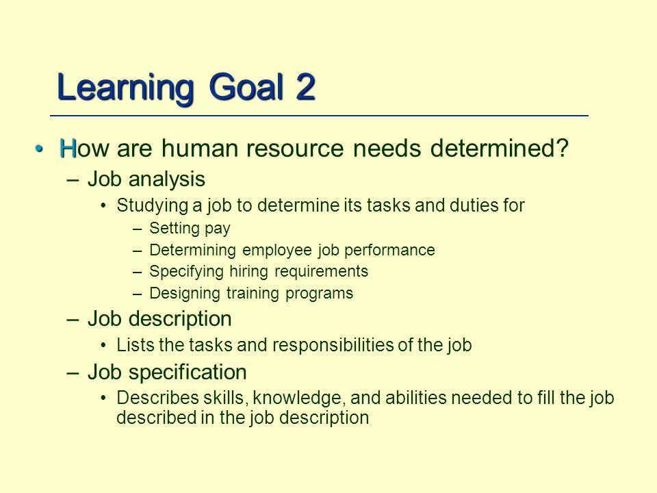 Managing Human Resources - ppt download - human resources job description