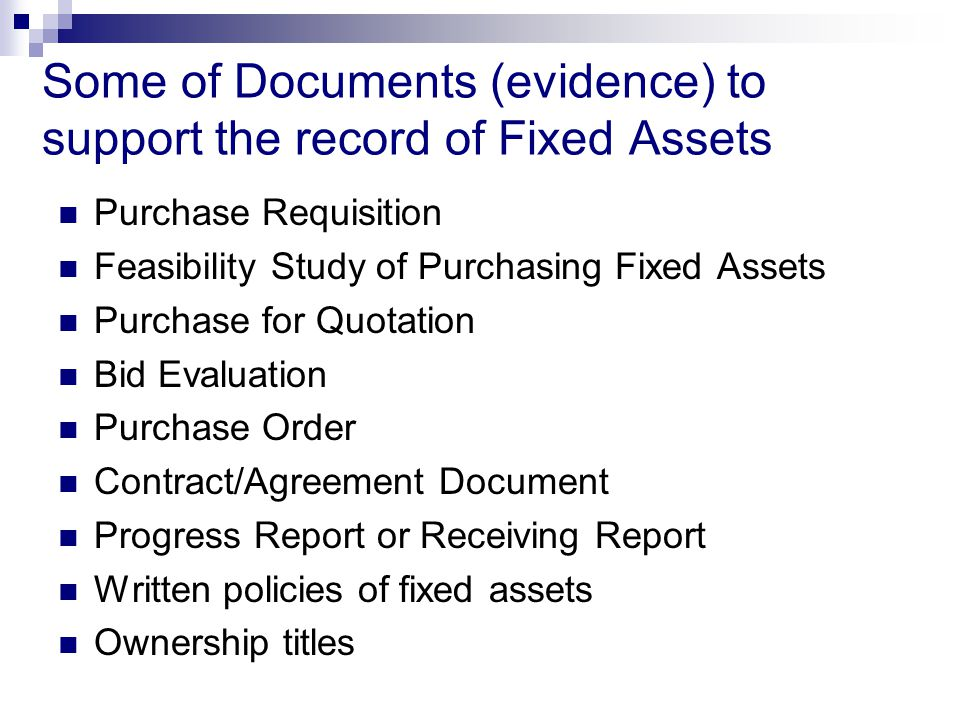 Audit Field Standards Audit of Fixed Assets - ppt video online - audit quotation