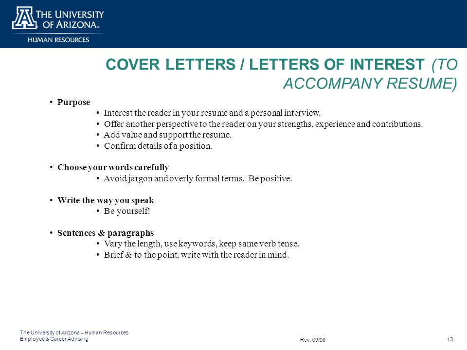 what is the purpose of a cover letter and resume ideas