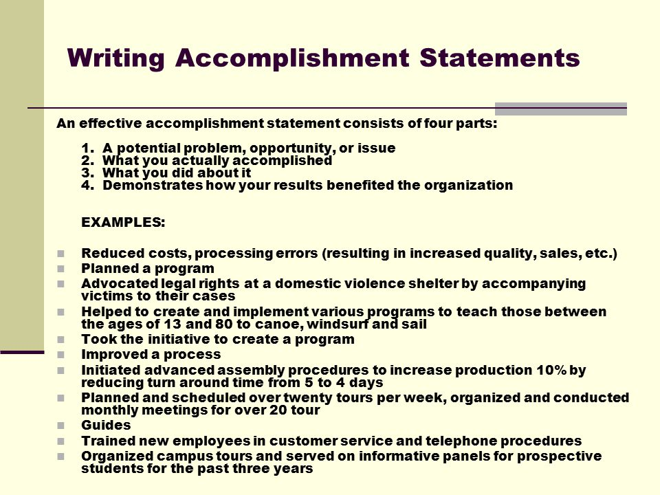 The Most Affordable Term Paper Writing Service Online create - resume accomplishment statements examples
