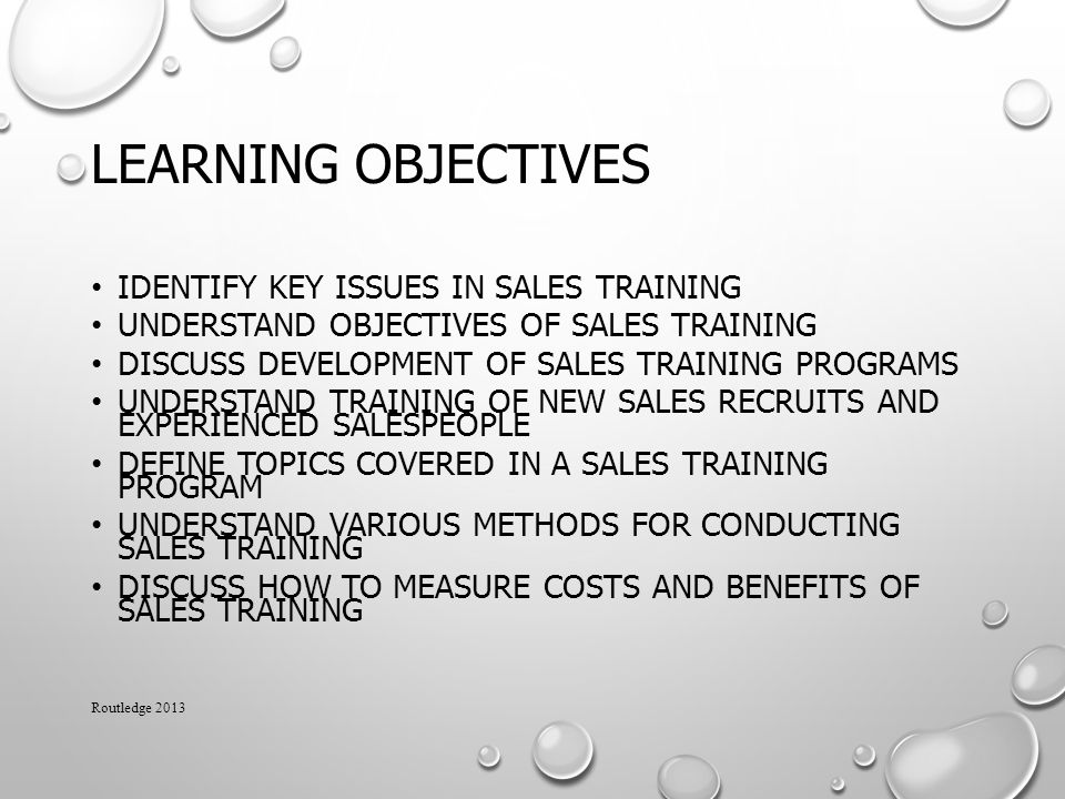 How To Develop A Sales Training Plan When Creating A Video Training - how to develop a sales training plan