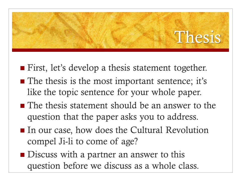 expository essay thesis statement example of a argumentative essay