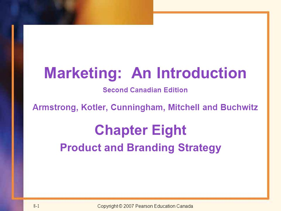 Chapter Eight Product and Branding Strategy - ppt video online download